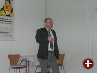 Horst Bräuner beim Vortrag
