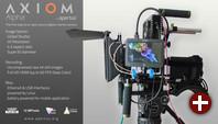 4K-Filmkamera Axiom als Prototyp