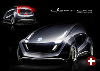 Light Car als Designstudie