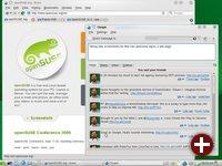 OpenSUSE 11.2 mit Unterstützung für Social Networks