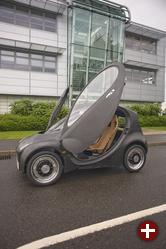 Britisches Brennstoffzellenauto für kleine und mittlere Städte