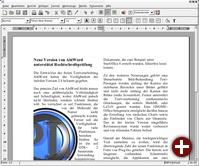 »Weiche« Umrandung von Bildern in AbiWord 2.4