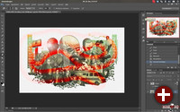 Adobe Photoshop unter Wine