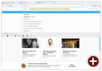 Adresszeile in Firefox 57 »Quantum«