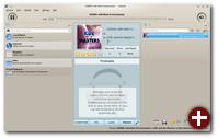 Amarok nutzt Plasma für den Kontextbereich