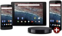 Android M auf verschiedenen Geräten