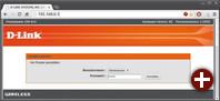 Anmeldung bei der Router-Konfiguration: Die IP-Adresse, die Sie dafür im Browser eingeben müssen, erfahren in den »Verbindungsinformationen« neben »Vorgaberoute«