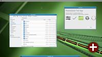 Anwendungen von KDE Frameworks 5 unter Weston, dem Kompositor von Wayland