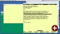 Arbeitsdesktop des Unix- und C-Urgesteins Brian Kernighan