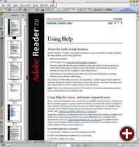 Acrobat Reader 7.0 für Linux