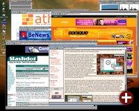 Der Browser ABrowse war für damalige Verhältnisse sehr modern