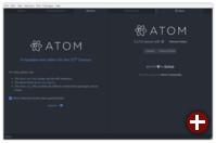 Atom: Projektübersicht