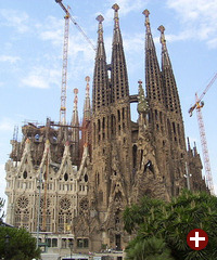 Die Kirche der »Sagrada Familia« in Barcelona