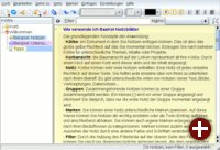 BasKet unter KDE 3