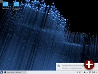 Benachrichtigung über vorhandene Updates in KDE
