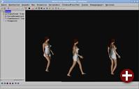Bild 7: Menschliche Animation