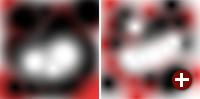 Gimp 2.9: Bild mit 8 Bit pro Farbkanal im Vergleich mit 32 Bit