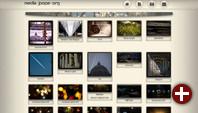 Bildergalerie in MediaGoblin 0.7.0