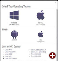 Bittorrent Sync: Es gibt Versionen für Linux, Windows, Mac-OS X und Android. Unter Linux werden diverse Plattformen unterstützt, was auch Einsatz auf NAS-Systemen erlaubt