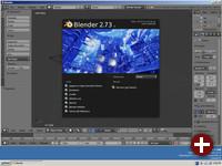 Blender 2.73 unter ReactOS
