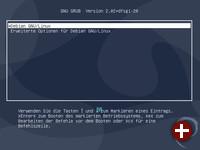Bootloader GRUB2 mit Debian 10