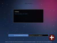 Bootscreen von Fedora 18
