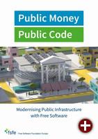Broschüre »Public Money, Public Code« der FSFE