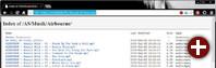 Browser-Zugriff: Der eingebaute Webserver mit aktivierter Verzeichnisauflistung erlaubt einfachen und sicheren Datenzugriff ohne Rechteverwaltung