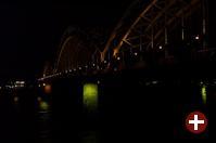 Die imposante Hohenzollernbrücke