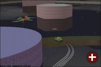 Panzer in Überschwemmung
