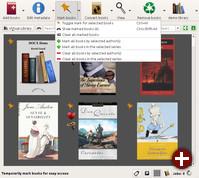 Calibre 2.0 unterstützt Markierungen für E-Books