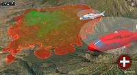 Capaware hilft bei der Bekämpfung von Waldbränden
