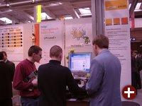 Das KDE-Projekt präsentierte sich ebenfalls im LinuxPark