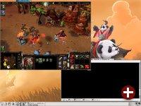 Warcraft 3 und KDE auf demselben Dektop
