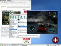 Mit der neuen Cedega-Ausgabe läuft auch Need for Speed Carbon unter Linux