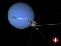 Voyager 2 passiert Neptun