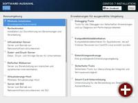 CentOS 7: Auswahl der Paketgruppen