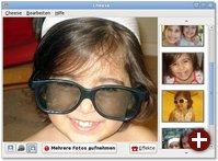 Der Widescreen-Modus von Cheese für Netbooks
