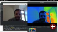 Cheese und gst-launch nutzen ein Video-Gerät gemeinsam