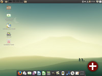 Cinnamon-Desktop von Calculate Linux