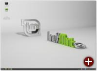Cinnamon-Desktop von Linux Mint 14