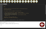Code-Editor »Mu«