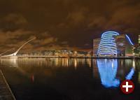 Convention Centre und Samuel Beckett Brigde Dublin, Irland