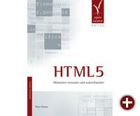Cover des Buches »HTML5«