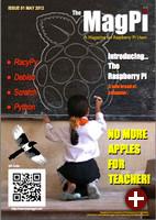 Cover von MagPi, Issue 1