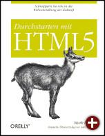 Cover von »Durchstarten mit HTML5«