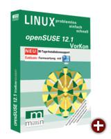 Cover von »openSUSE 12.1 Vorkon«