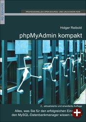 Cover von »phpMyAdmin kompakt«