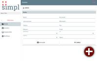 CRUD-Demo der Entwicklungs- und Service-Plattform Simpl4