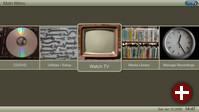 Das Menü von MythTV im Terra-Style